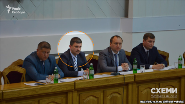 Deputy head of the Department for Protection of Economy of the National Police Ihor Zvezdin.