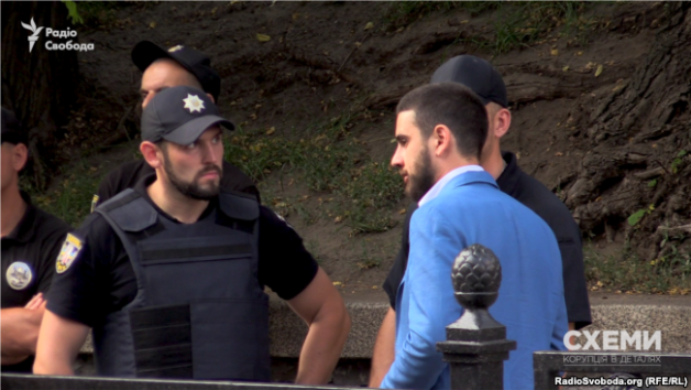 Yevhen Deidei comes out to the police.