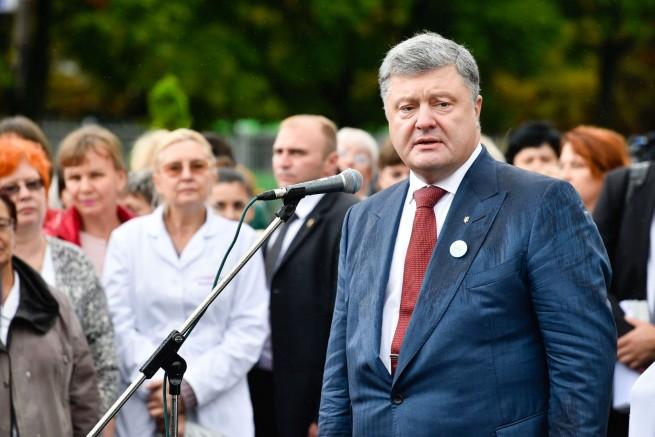 Who does Poroshenko want to look like? 1 September, Kharkiv