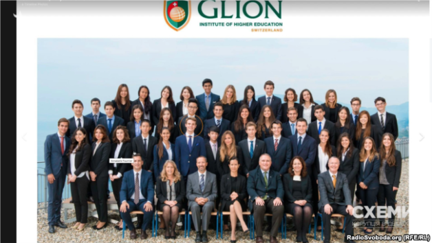Hlib Yemelianov is studying in Switzerland – in the prestigious private Glion Institute.