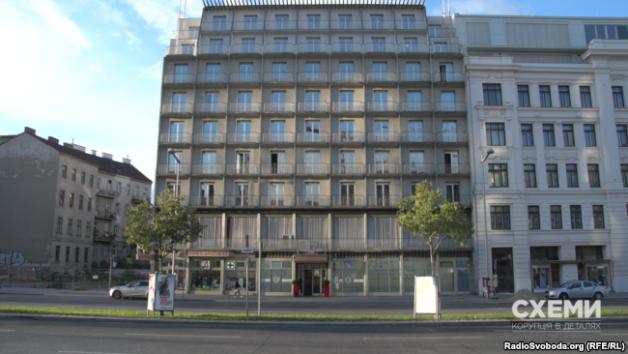 Four-star hotel Prinz Eugen, Vienna, Austria.